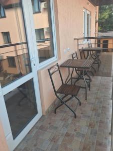 Балкон или терраса в Отель Кипарис