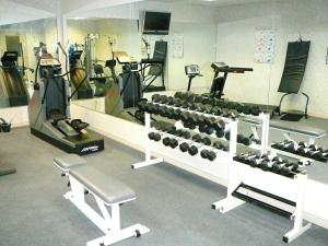 The fitness center and/or fitness facilities at Coast Abbotsford Hotel & Suites