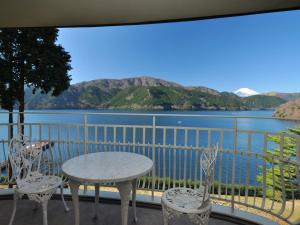 A balcony or terrace at The Prince Hakone Lake Ashinoko