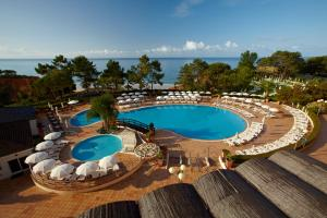 A view of the pool at PortoBay Falesia or nearby