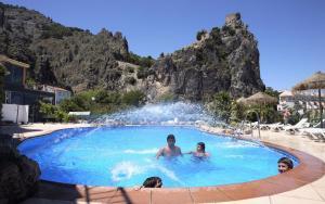 Piscina en o cerca de Hotel Sierra de Cazorla & SPA 3*