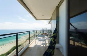 Uma varanda ou terraço em BarraBella Apart-Hotel
