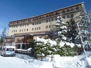Hotel Caldora durante l'inverno