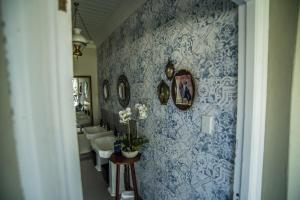 A bathroom at The Royal Fischer Hotel