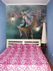 Кровать или кровати в номере Holiday home Irina