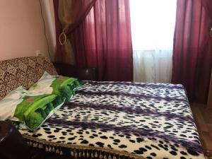 Кровать или кровати в номере 1-ком. квартира