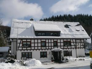 Landhaus Kappen im Winter