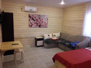 Гостиная зона в Гостевой дом Лесана