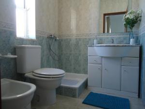 A bathroom at Casa Felicidade