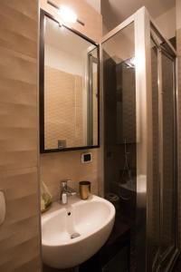 A bathroom at B&B Civico Cinque