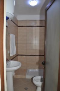 A bathroom at Hotel Marub