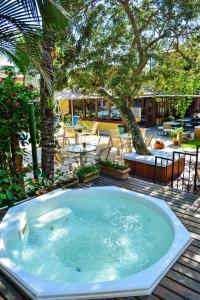 The swimming pool at or near Pousada do Namorado