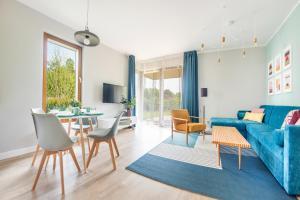 Część wypoczynkowa w obiekcie Apartamenty Sun & Snow Gdańsk Bursztynowa