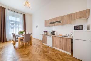Küche/Küchenzeile in der Unterkunft Apartments 39 Wenceslas Square