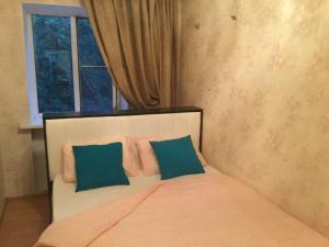Кровать или кровати в номере Apartment Курортная зона