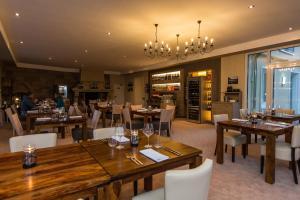Een restaurant of ander eetgelegenheid bij Parkhotel Cochem