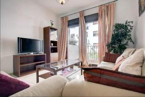 Zona de estar de Apartamento Atenea en Ronda