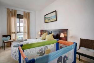 Cama o camas de una habitación en Apartamento Atenea en Ronda
