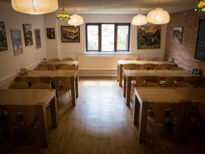 A restaurant or other place to eat at YHA Helvellyn