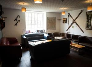 A seating area at YHA Helvellyn