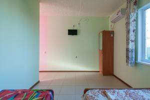 A television and/or entertainment center at Guest House Do Vstrechi