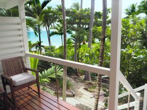 A balcony or terrace at Lizard Island Resort