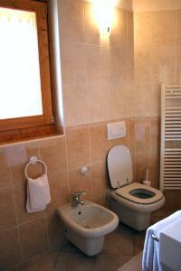 A bathroom at Hotel Sole