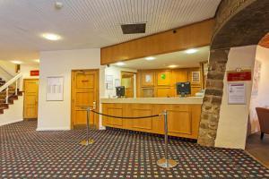 The lobby or reception area at Britannia Hotel Leeds