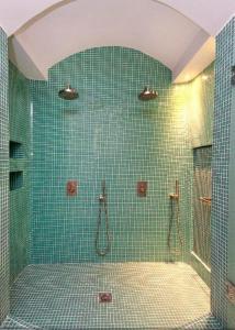 A bathroom at Allure Suites