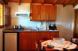 A kitchen or kitchenette at Villa Katina Apartments