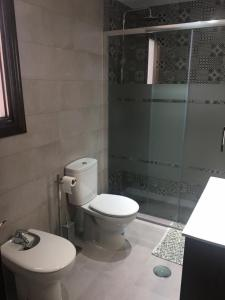 Un baño de Two bedroom Flat realejo, campo del principe