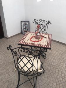 Zona de estar de Two bedroom Flat realejo, campo del principe