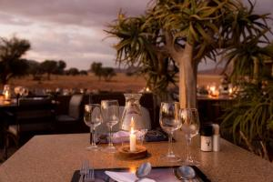 A restaurant or other place to eat at Sossusvlei Lodge