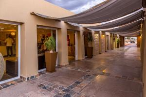 The lobby or reception area at Sossusvlei Lodge