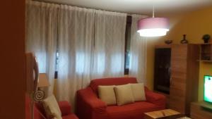 A seating area at Apartamento Loiu