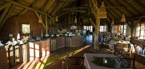 A restaurant or other place to eat at Kalahari Red Dunes Lodge