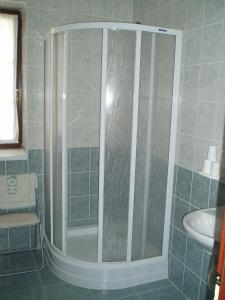 Koupelna v ubytování Restaurace a Penzion Česká Hospoda