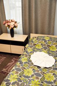Кровать или кровати в номере Отель Вилга