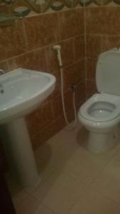Um banheiro em Rahati ApartHotel
