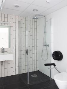 Ein Badezimmer in der Unterkunft Citybox Bergen