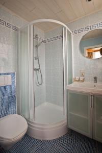 Salle de bains dans l'établissement Hotel Georges