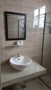 A bathroom at Mahkota Hotel Melaka Private 2bedroom apartment
