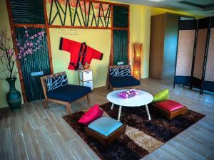 A seating area at Vartika Adventure Retreatic Resort