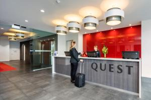 The lobby or reception area at Quest on Franklin