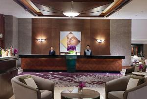 The lobby or reception area at Banyan Tree Bangkok