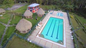 Vista de la piscina de Finca Las Mercedes o alrededores