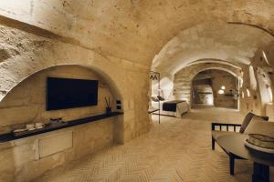 A television and/or entertainment center at Palazzotto Residence&Winery