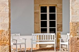 Un patio o zona al aire libre en Posada Villa Esperanza