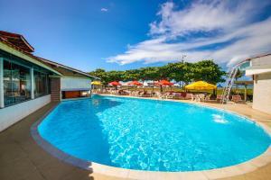 The swimming pool at or near Garça Branca Praia Hotel