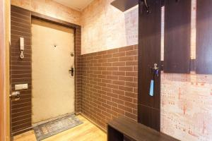 Ванная комната в Apartments Amber Museum